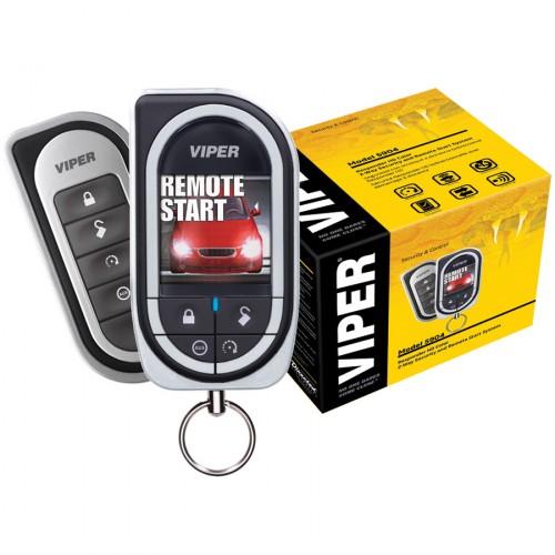 Alarma auto cu pornirea motorului din telecomanda Viper 5904