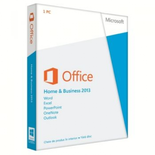 Aplicatie Microsoft Office Home and Business 2013 Romana T5D-01757