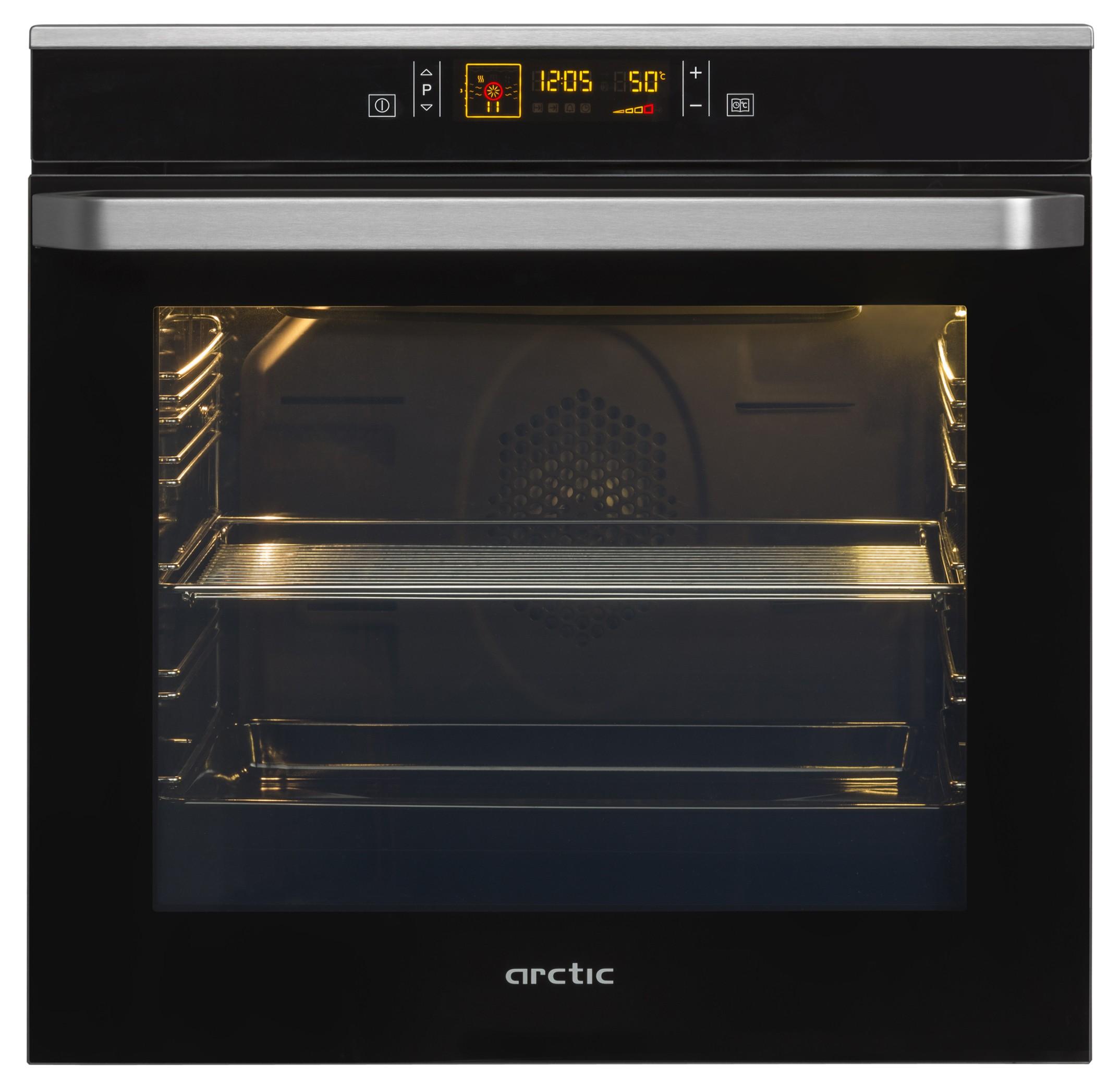Cuptor incorporabil electric Arctic AROIM32400X, grill, clasa A, negru