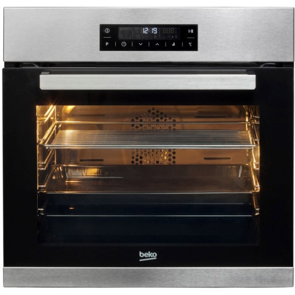 Cuptor electric Beko BIRF22400XMS, Rotisor, Grill, 72l