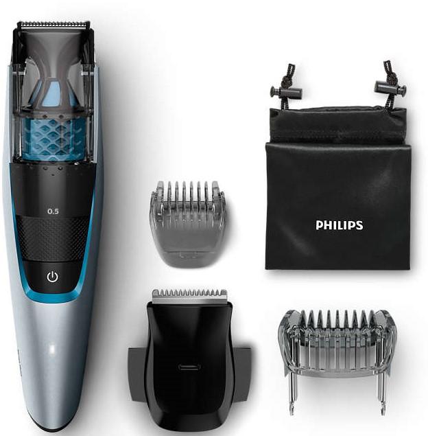 Aparat de tuns barba cu aspirator Philips BT7210/15