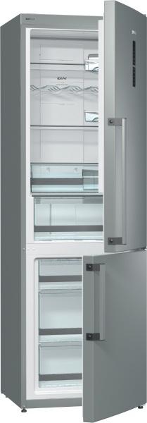 TRANSPORT GRATUIT-Combina frigorifica Gorenje NRK6191TX, 329 l, A++, Inox
