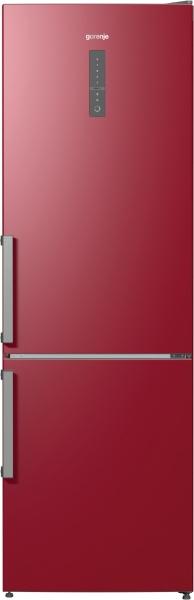 Combina frigorifica Gorenje NRK6192MR, 329 l, A++, Rosu vulcanic