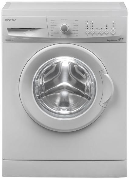 Masina de spalat rufe Arctic CB6000A++, 6kg, 1000RPM, A++, alb