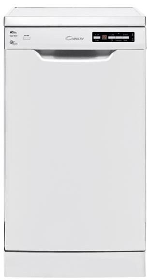 Masina de spalat vase Candy CDP 2D1145W, 11 seturi , 7 programe, Alb, A