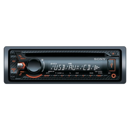 Radio MP3 CD auto SONY CDX-GT1001U