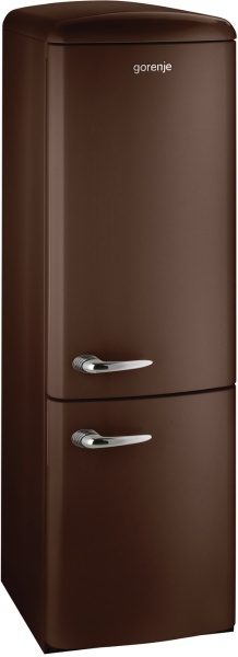 Transport gratuit- Combina frigorifica Gorenje RK60359OCH, Clasa A++, Ciocolata neagra