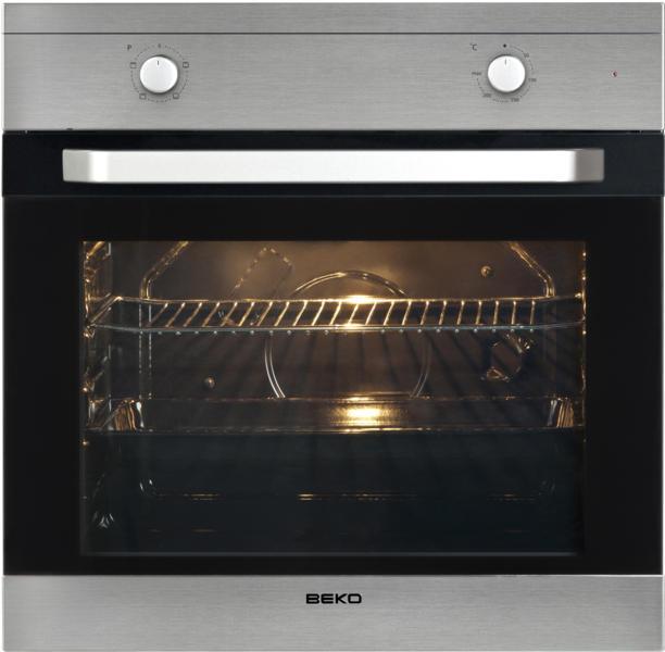 Cuptor incorporabil Beko OIC22001X, Electric, Static, 4 functii, Grill, Inox