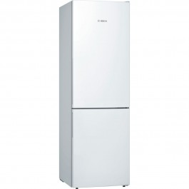 BOSCH Combina frigorifica KGE36VW4A ,low frost , 302 L , A+++ , VitaFresh , ChillerBox , 186 cm , Alb