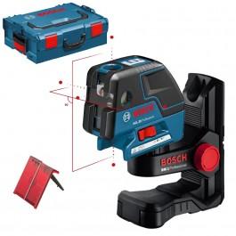 BOSCH GCL 25 + BM 1 Nivela laser puncte-linii + Suport + L-BOXX 0601066B02