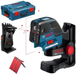 BOSCH GCL 25 + BM 1 Nivela laser puncte-linii + Suport special + L-BOXX 0601066B03