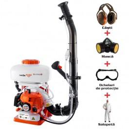 Atomizor RURIS A109S + kit echipament de lucru profesional {casca+salopeta+ochelari+masca}