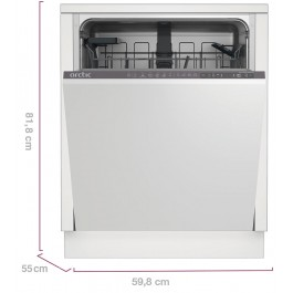 Masina de spalat vase incorporabila Arctic DBI64A+, 14 Seturi, A+