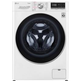 Masina de spalat rufe LG F4WN609S1, 9 kg, 1400 RPM, Wi-Fi, Alb, A+++