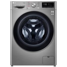 Masina de spalat rufe LG F4WN609S2T, 9 kg, 1400 RPM, Wi-Fi, Argintiu, A+++