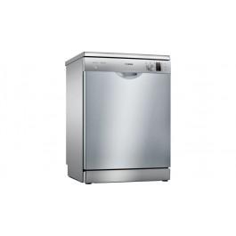 Masina de spalat vase Bosch SMS25AI05E, 12 seturi, 5 programe, Silence Plus, Motor EcoSilence Drive, Clasa A++, 60 cm, Inox