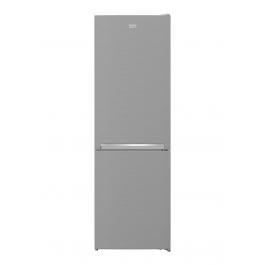 Combina frigorifica Beko RCSA366K40XBN, 343 L, Metal Look, A++