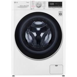 Masina de spalat rufe LG F4WN408S0, 8 kg, 1400 RPM, Wi-Fi, Alb, A+++