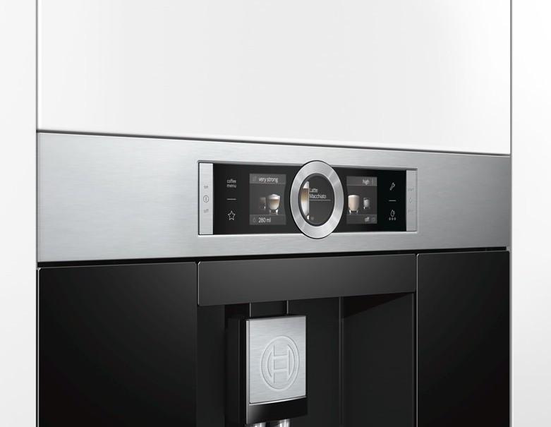 cumpara automat de cafea espresso incorporabil bosch. Black Bedroom Furniture Sets. Home Design Ideas
