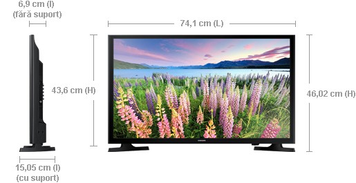 cumpara televizor samsung 32j5200 led full hd smart tv 80cm de la samsung la pretul de 1. Black Bedroom Furniture Sets. Home Design Ideas