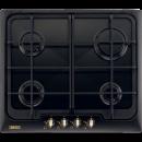 Plita incorporabila Zanussi ZGG66414CA, gaz, negru