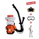 Atomizor RURIS A102 + kit echipament lucru {masca+ochelari+salopeta}