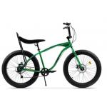 "Bicicleta Pegas Cutezator Ev Banana FATEV7SBANANAGRE, 26"", 7 viteze, Verde Smarald"