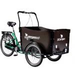 """Tricicleta Pegas Cargo ADULTCARGOGREEN, 26"""", 3viteze, Verde Smarald"""