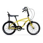 "Bicicleta Pegas Strada Mini 17MINI1SYELOW, 20"", 1 Viteza, Galben Bondar"