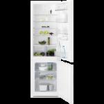 Electrolux Combina frigorifica incorporabila LNT3FF18S , 267 litri ,A+ ,Static low frost H 177 cm alb
