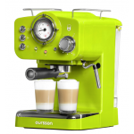 Espressor manual Oursson EM1500/GA, 15bari, Verde
