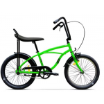 "Bicicleta Pegas Strada Mini 17MINI1SGREEN, 20"", 7 viteze externe, Verde Neon"