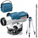 BOSCH GOL 32 G + BT 160 + GR 500 Professional Nivela optica + Trepied + Mira (120 m) 0601068503