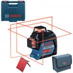 BOSCH GLL 3-80 Nivela laser cu lini (30 m) + Geanta 0601063S00