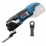 BOSCH GOP 18 V-28 (SOLO) Multicutter fara perii (brushless) Li-Ion, fara acumulator in set 06018B6002