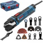 BOSCH GOP 40-30 Multicutter 400 W + Accesorii + L-BOXX 0601231001