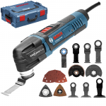 BOSCH GOP 30-28 Multicutter 300 W + Accesorii + L-BOXX 0601237000