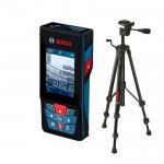 BOSCH GLM 120 C + BT 150 Telemetru cu laser (120 m) cu transfer de date catre telefoane, tablete, PC + Trepied 0601072F01