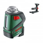 Nivela laser cu linii BOSCH PLL + Suport perete 0603663020