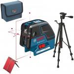 www.magazinieftin.ro-BOSCH GCL 25 + BT 150 Nivela laser puncte-linii + Trepied 0601066B01-0601066B01-20