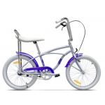 "Bicicleta Pegas Strada Mini Bleu 17MINI1SBLEU, 20"", 7 viteze4 externe, Bleu Arctic"