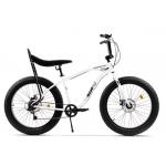 "Bicicleta Pegas Cutezator Ev Banana FATEV7SBANANAWHI, 26"", 7viteze, Alb Perlat"