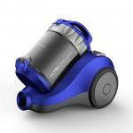 Aspirator fara sac Daewoo RCC-120L, 1400 W, 2 L, Filtru Hepa, Albastru