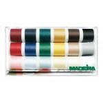 Set ata de cusut MADEIRA Aerofil Sew-All 18 culori x 200m