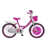 Bicicleta 20 Rich D2002A, pentru copii, Roz HK