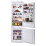 Combina frigorifica incorporabila Candy BCBF 182 N, 256 l, NoFrost, NFC, Clasa A+, H 185 cm, Alb