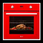 Cuptor electric incorporabil LDK A69EVRD, digital, grill, rosu