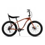 "Bicicleta Pegas Cutezator Ev Banana FATEV7SBANANAORA, 26"", 7viteze, Portocaliu Cupru"