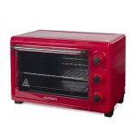 Cuptor electric Oursson MO2610/RD, 1500W, 26L, rosu