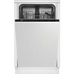 Masina de spalat vase incorporabila Beko DIS35023, 10 Seturi, 5 Programe, E